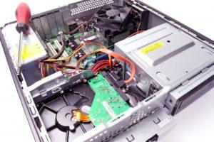デスクトップパソコン内部